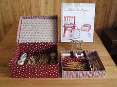 idées organisation intérieure d'une boite