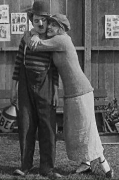 """flofloperro: """" Charlie Chaplin et Edna Purviance dans The Champion - Essanay 1915 """" Charlie Chaplin & Edna Purviance second film together."""