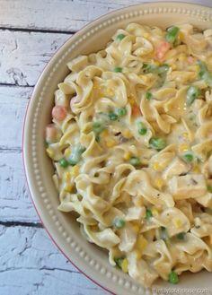 Kleenex, Chicken Noodle Casserole