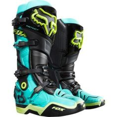 Fox is the leader in motocross and mountain bike gear, and the apparel choice of action sports athletes worldwide. Shop now from the Official Fox Racing® Online store. Dirt Bike Gear, Motocross Gear, Motorcycle Gear, Dirt Biking, Motocross Outfits, Atv Boots, Bike Boots, Fox Racing, Racing Cake