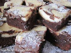 Brownie bicolore | La ricetta che Vale