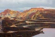 Las minas de Riotinto, en Huelva, simulan el #planeta rojo sin necesidad de salir de España