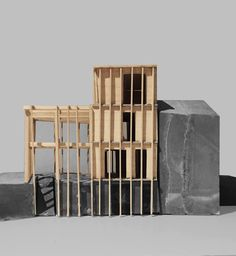 Maquette Architecture, Architecture Models, 3d Modelle, Arch Model, Shelter, Envelope, Studio, Abstract, Drawings