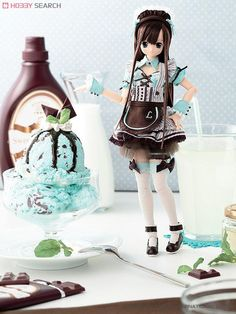 [close]  Sahras a la mode ~Sweets a la mode~ Mint Chocolate Chip Ice /Lycee (Fashion Doll) Other picture1