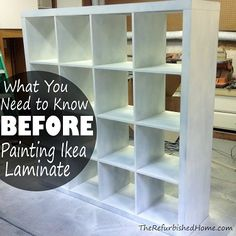 What You Need To Know Before Painting Ikea Laminate