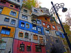 Hundertwasser - Vienna, Austria