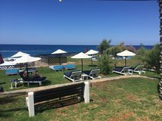 Book the Radisson Blu Milatos Beach Resort, located on Crete's northern shore & a picturesque, luxury getaway with dramatic views of the dazzling waterfront. Crete Holiday, Radisson Hotel, Luxury Holidays, Beach Resorts, Patio, Outdoor Decor, Yard, Terrace