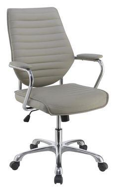 Norstar B696c Sg Modern Executive Conference Chair Grey
