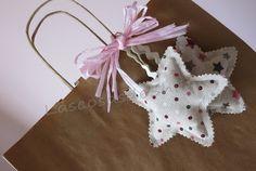 Estrellas de lavanda para decorar y disfrutar de su olor
