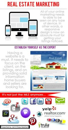 Real Estate Marketing Supplies #follow4follow