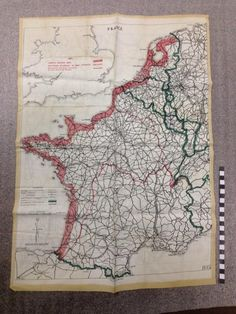 1948 freeway and trafficway plan for san francisco the post war map of occupied france printed on silk and given to airmen in case they were forced publicscrutiny Images