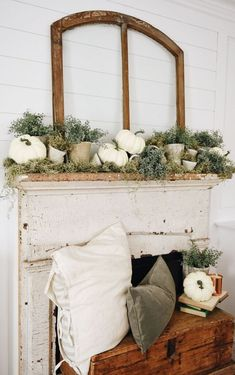 Farmhouse Home Decor Table Setting Modern Fireplace Mantle Fall Decor Storage Wooden Pumpkin Spice /& Everything Nice Wooden Display Box