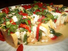 Southwestern Cheese Appetizer ~ Marinated Cheese