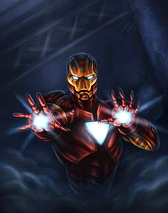 iron man colored by vic55b on deviantART