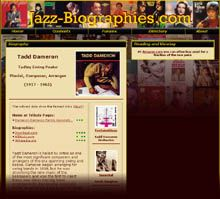 Jazz Standards, Jazz History, Musicology, Biographies and Books