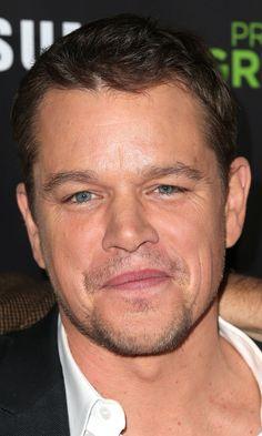 """Actor Matt Damon attends HBO Reveals Winner of """"Project Greenlight"""" Season 4 at BOULEVARD3 on November 7, 2014 in Los Angeles, California."""