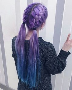 You need to see these stunning purple hair ideas for braiding if you want to kee., Frisuren,, You need to see these stunning purple hair ideas for braiding if you want to kee. Hair Dye Colors, Cool Hair Color, Exotic Hair Color, Creative Hair Color, Pastel Hair, Ombre Hair, Pastel Rainbow Hair, Pastel Pink, Braid Hairstyles