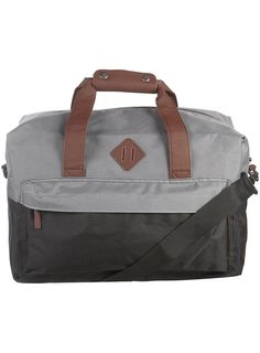 BLACK AND GREEN HOLDALL - Topman  Price:£38.00