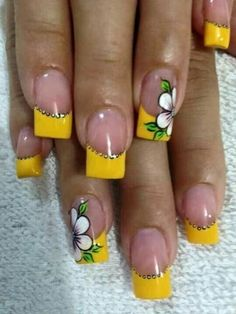 Cute Lines Dots Nail Art Design To Try Now 23 is part of Easy Beach nails Sea Salt - Visit the post for Dot Nail Art, Nail Art Diy, Easy Nail Art, Nail Art Designs, Nails Design, Flower Nail Art, French Tip Nails, Yellow Nails, Nail Decorations