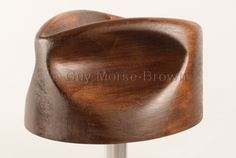 fedora crown block - mens hat block from Guy Morse-Brown