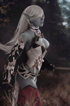 ero cosplay,cosplay,Lineage 2,Lineage,Игры,Dark Elf