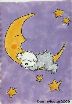 Sheepdog on the moon