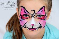 Svetlana face paint cat