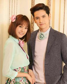 the best couple Thai Princess, Princess House, Drama Film, Drama Movies, Princess Hours Thailand, Thailand Wallpaper, Drama Taiwan, Thailand Fashion, Most Handsome Actors