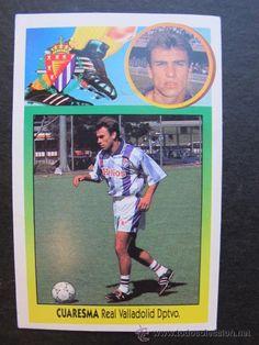 Cromo Cuaresma Real Valladolid colecciones este 93 94 futbol f03bca41b