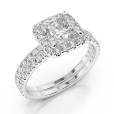 Double Halo Engagement Ring Zales 9