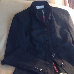 M Missoni Black Linen Jacket M Missoni Black Cotton Jacket Exquisite Detailing...wonderful weight for spring...excellent condition!  barely worn! Missoni Jackets & Coats