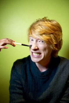 Domhnall Gleeson // this photo makes me happy for no reason ♥