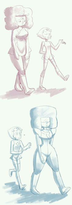 """Poor Pearl. First, Garnet was just a noob at the whole """"Fusion"""" thing, then she's like, """"Pearl, don't talk to me,"""""""