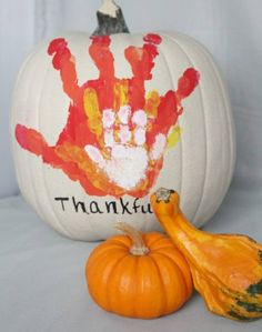 Hands-on pumpkin