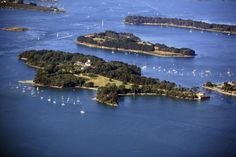 """""""In the crook of Brittany's southern coastline, the Golfe du Morbihan (Morbihan gulf) has islands aplenty. The area is also known for its bird life, oyster farms and fascinating Celtic megaliths.  Read more: http://www.lonelyplanet.com/france/travel-tips-and-articles/77210#ixzz2sdomdwjS"""""""