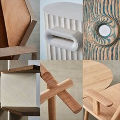 """In the summer of 2019, ten leaders of London's cultural institutions joined some of Europe's most exciting designers to create a """"legacy piece"""" that they would like to pass on to a family member or the institution they lead. The ten pieces, all crafted by using American red oak, cannot be more different. However, they are connected by their claim to be sustainable and to survive generations. In January 2020, the Legacy exhibition will make its debut in Germany at imm cologne. All Craft, Red Oak, Smart Home, Sustainability, Stool, Culture, Cologne, Projects, January"""