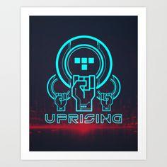 Uprising  Art Print by Matthew J Parsons - $15.00