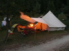 Standard Shelter - can be attached to your Sibley Tent to extend the space