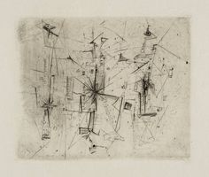 Wols (Alfred Otto Wolfgang Schulze) From a complete set of untitled etchings c.1942–1951