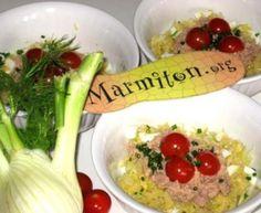 Salade de fenouil au thon : Recette de Salade de fenouil au thon - Marmiton