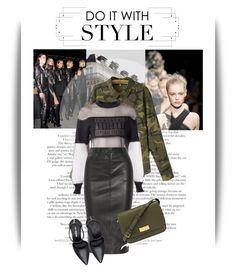 """Do it with style"" by emeliet ❤ liked on Polyvore featuring moda, Chanel, Alexander Wang, Neeya, Joseph, Nine West y Henri Bendel"