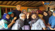 Restoran Bumi Langit, menjadi pilihan Barack Obama bersantap siang saat berwisata di Yogyakarta. Apa saja? #Liputan6SCTV