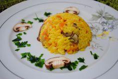 Arroz temperado- Essa receita é deliciosa e ótima para dar uma variada no cardápio e sair do tradicional arroz branco.