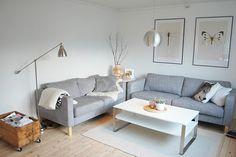 2 2er ikea karlstad sofas nebeneinander - auch cool!