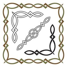 Find Celtic Knot Frame Corner Divider Elements stock images in HD and millions of other royalty-free stock photos, illustrations and vectors in the Shutterstock collection. Viking Symbols, Egyptian Symbols, Viking Runes, Ancient Symbols, Mayan Symbols, Friendship Symbol Tattoos, Celtic Border, Celtic Knot Designs, Celtic Patterns