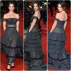 Pride Prejudice & Zombies PremiereLILY JAMES IN #Erdem#lilyjames #cinderella #model #supermodel #skinnies #gown #dress #hautecouture #blonde #black #fashion #blogger #party #croptop #cool #accessories #fall #bracelet #blog #luxury #instablog #rippedjeans #fashionblogger #jewelry #maxi #beauty #makeup #igers #inspo... - Celebrity Fashion