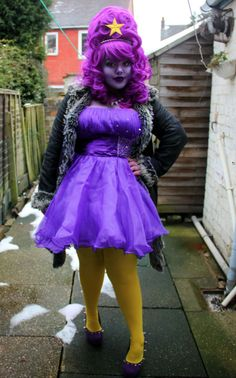 Lumpy Space Princess- I wish I was this dedicated last Halloween when Bray was Fin.