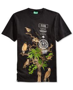 Lrg Men's Spring Bird Graphic-Print T-Shirt