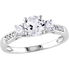Imperial 12 Carat TW Diamond 10kt Rose Gold Engagement Ring