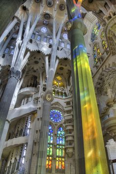 La Sagrada Familia, Barcelona, ​​Spain
